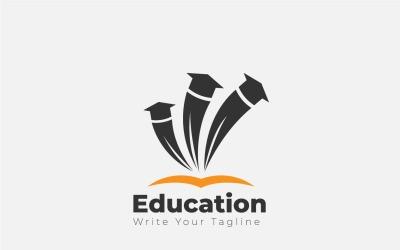 Education Logo Concept For Happy Celebration For Graduation