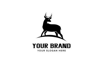 Deer Logo Design Vector Template