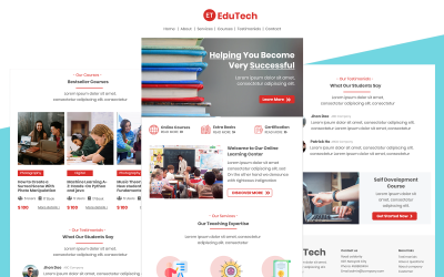 EduTech – Multipurpose Education Email Template Responsive Newsletter Template