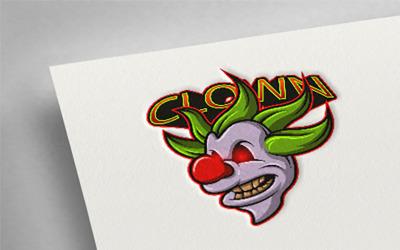 Clown 1 Esport Logo Template