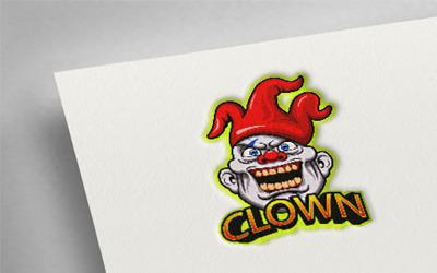Clown 2 Esport Logo Template