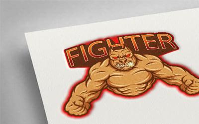 Fighter Esport Logo Template