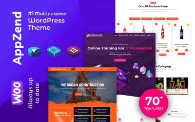 Appzend - багатоцільові бізнес -теми WordPress безкоштовно