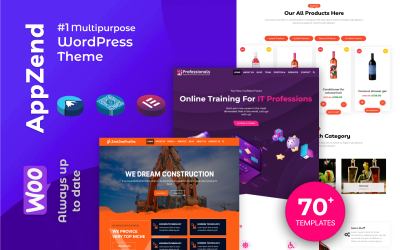 Appzend - Multipurpose Business WordPress -teman gratis