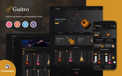 Guitro - Template PrestaShop de música