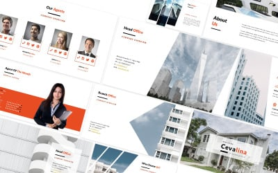 Cevalina Real Estate Powerpoint Template