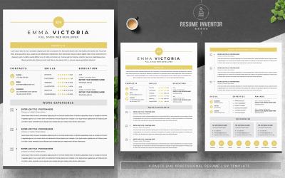 Emma Victoria / Modello di curriculum