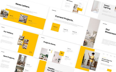 Smart Home Living Powerpoint Template
