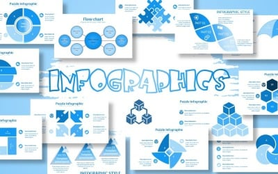 Template Powerpoint Infographics Multipurpose, Creative And Modern Hot 2021
