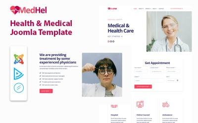 MedHel - Egészségügyi és orvosi Joomla sablon
