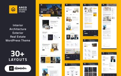 ARCO - Belsőépítészeti Stúdió WordPress Elementor Theme