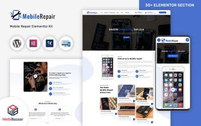 MobileRepair - Modelo WordPress de reparo móvel e serviços de informática