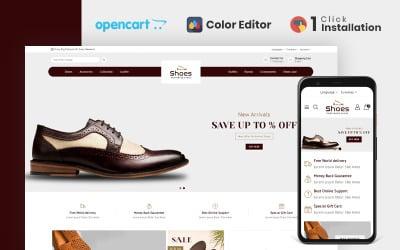 鞋店响应式 Opencart 主题