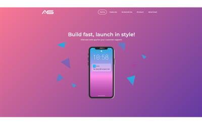 Apu   App HTML5 målsidesmall