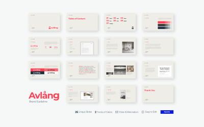 Avlang - Brand Guidelines Presentation - Keynote Template