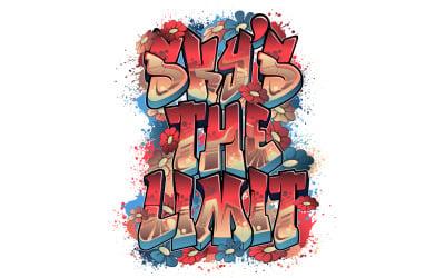 Sky's The Limit ve stylu Graffiti Art