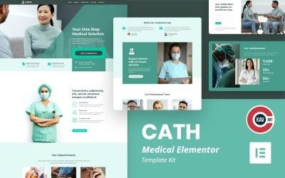 Cath - Medical Elementor Template Kit