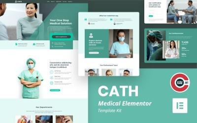 Cath — zestaw szablonów medycznych Elementor