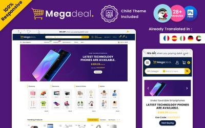 Megadeal – Electronic Multipurpose Prestashop Store