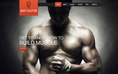 Free Bodybuilding WordPress Theme