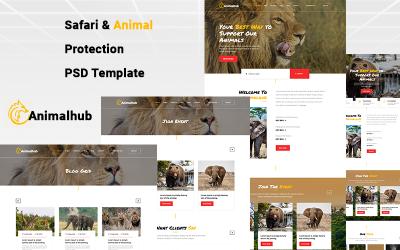 PSD шаблон захисту тварин
