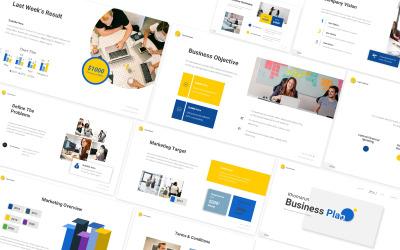 Khomarun Business Plan Google Slides Template