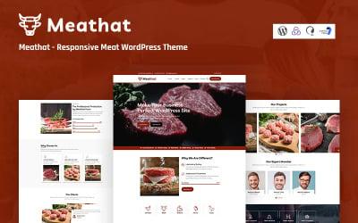 MeatHat - Responsive Meat WordPress Theme