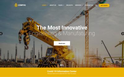Compoq - Construction and Renovation Joomla Templates