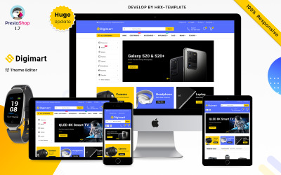 Digimart Electronics e Digital Mega Super Store Responsive Tema Prestashop