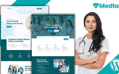 Medtab - Orvosi és egészségügyi WordPress WordPress téma