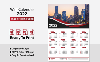 2022 Zakelijke Wandkalender / Design Planer