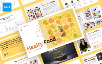 Healty Food — Food and Restaurant Keynote Template