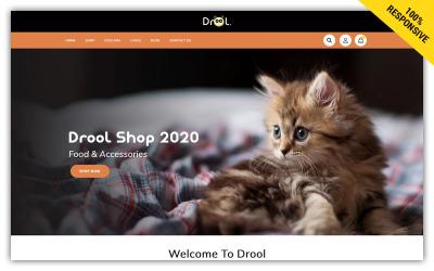 Drool Store Shopify Theme