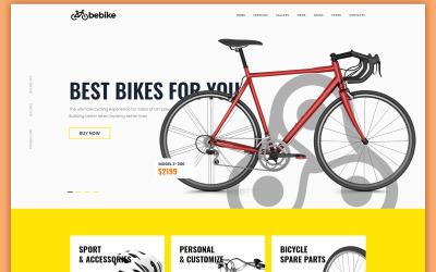 Bebike - Sport Kerékpár Áruház WordPress téma