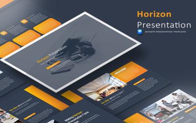 Horizont bemutató - Keynote sablon