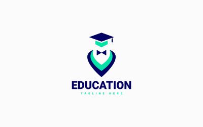 Образование Логотип Значок Дизайн Векторный Концепт