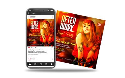 Flyer zur After-Work-Night-Party