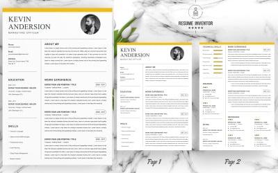 kevin Anderson / Resume CV