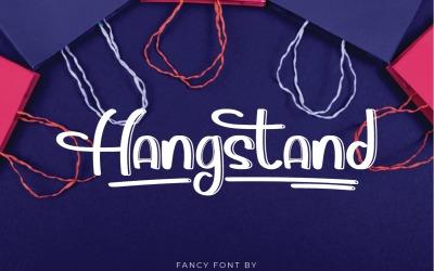 Hangstand Handschrift Display Lettertype