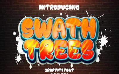 Swath Trees Graffiti Font