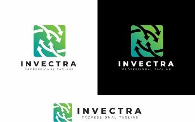 Investeer pijlen logo sjabloon