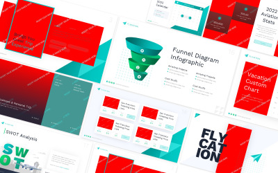 Шаблон слайдів Google Flycation