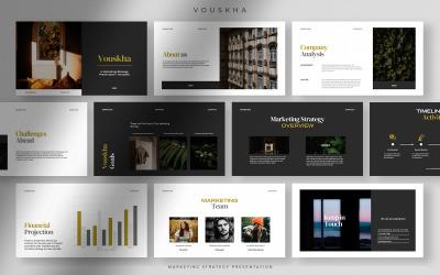 Vouskha - Merész professzionális marketingstratégiai bemutató