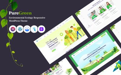 Puregreen - Tema de WordPress sensible al medio ambiente y la ecología