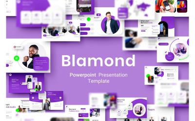 Blamond - Business PowerPoint sablon