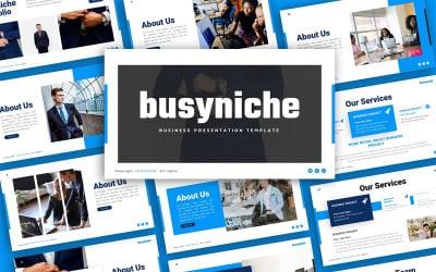 Busyniche Business Presentation Template