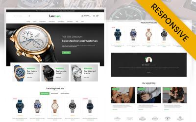 Responsywny motyw Prestashop Digital Watch Store Lexcon