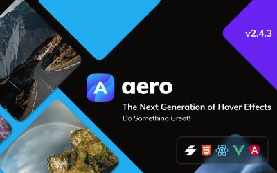 Aero - эффекты наведения на изображение JavaScript