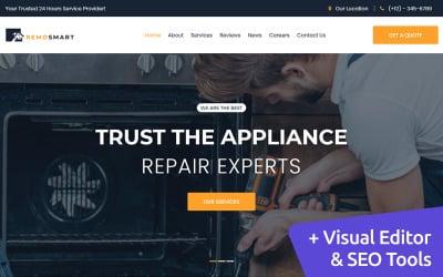 Home Services MotoCMS Website Design