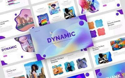 Dinamico - Modello di presentazione di Google per presentazioni aziendali creative